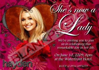 18th Birthday Debut Invitation Messages - Houses Plans - Designs